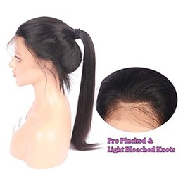 $enCountryForm.capitalKeyWord Australia - Natural Look Silky Straight Ponytail Long Black Wigs with Baby Hair Free Part Glueless Synthetic Hair Full Wig Heat Resistant Fiber Wigs for