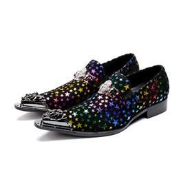 57882135a Shiny Man Fashion Hip Hop Performance Dress Oxfords Shoes 2018 Autumn Design  Italy Cosplay Fashion Oxfords Sapatos