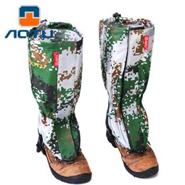 $enCountryForm.capitalKeyWord NZ - Camouflage Legwarmers Outdoor Anti Snake Sand Waterproof Ski Hiking Walking Climbing Hunting Snow Cover Legging Gaiters