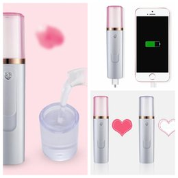 $enCountryForm.capitalKeyWord Australia - Mini Portable Facial Steamer Power Bank Rechargeable USB Cool Face Spray Nano Mist Sprayer Moisturizing Skin Care Beauty Instrument KKA5561