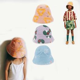 e40a2764a11 2018 Summer Tao Brand Children Sun Hat Girls Bucket Hat Cute Letters Cartoon  Print Baby Caps For Boys Cap Gorros Infantiles 0-6y