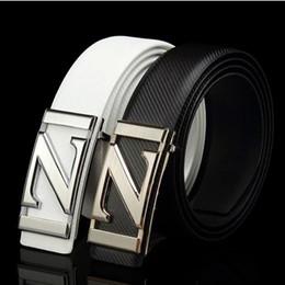 Z Buckle Leather Belt UK - Explosive men's leather belt Z letter Korean tide fashion belt manufacturers spot direct