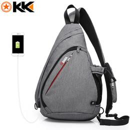 2a81532a2 KAKA 2018 New Arrival Male Shoulder Bags USB Charging Crossbody Bags Men  Anti theft Chest Bag Summer Short Trip Messengers Bag Free Ship