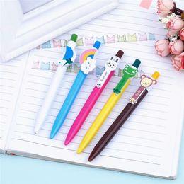 $enCountryForm.capitalKeyWord NZ - New Arrival Novelty Multicolor Ballpoint Pen Multifunction Colorful Stationery Creative School Supplies