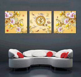 art canvas prints Australia - Unframed 3 Pcs Cake Canvas Painting Print Coffee Pictures HD Posters Wall Art Canvas Home Decoration For Living Room