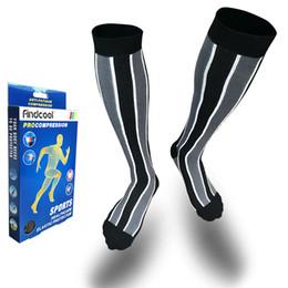 fc0b78c49d5 FINDCOOL Medical Compression Socks Pressure Varicose Veins Leg Relief Pain  Knee High Socks Knee Calf Support for Women Men