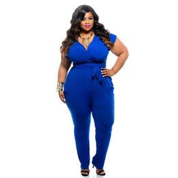 07860e1195 Summer Fashion Womens Bandage Bodycon Sexy Clubwear Romper Jumpsuit Black  Blue Party Pants Plus Size L-3XL