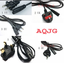 High Quality Power Cable Australia - 1pcs High quality 2 Prong US EU UK AU Plug AC Power Cord Cable Charge Adapter PC Laptop 1.2M For Computer Printer adapter AQJG