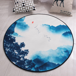 shower mats slip NZ - Anti-slip Children's Game Cartoon Rug Shower Mat Non Slip tapis de bain grande taille Toilet Carpet Set Kitchen Living Room Mats Decoration