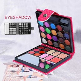 $enCountryForm.capitalKeyWord NZ - Professional 32 Colors Makeup Eyeshadow Palette Fashion Face Eye Lips Make Up Kit With Case Cosmetics For Women