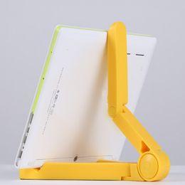 Stand Holder Support For Tablets NZ - universal Mobile Phone Stand Holder Rotate Foldable Desktop Tablet PC Lazy Support Holder Bracket For Apple iPhone Samsung DHL