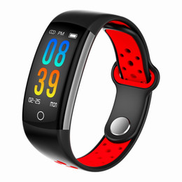 bluetooth motors UK - Fitbit Life Smart Bluetooth Bracelet Fitness Tracker Band Dynamic Heart Rate Bracelet IP68 Swimming Smart Motor Shock Ring For Iphone Samung