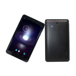 7 Wifi Tablet Australia - Glavey! 7 inch MTK8370 Quad-Core Android 5.1 1GB+8GB 1024 x 600 Dual camera Wifi Bluetooth Black tablet
