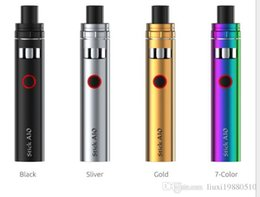 Fixed carbon Film resistor online shopping - 100 Original STICK AIO Kit ml Top Refilling All In One Vape System Colors Original TECH Starter Kit