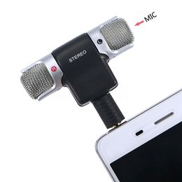 $enCountryForm.capitalKeyWord NZ - Mini 3.5MM Plug Insert Microphone Stereo Mic Recording Mobile Phone Studio For Cellphone PC Tablet Laptop Recording Pen MD Camera