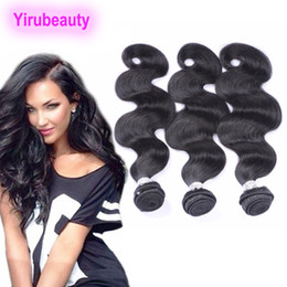 Long weave hair online shopping - Malaysian A Virgin Human Hair Long Inch inch g piece Bundles Body Wave Hair Extensions Natural Color Weaves