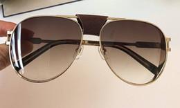 $enCountryForm.capitalKeyWord NZ - Best-selling style men's pilots metal frame Gradient Vintage top quality designer brand sunglasses anti-UV protection Drive sunglasses