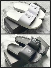 f688da1e4 2018 New Y3 Women Men Slides Summer Luxury Leather Designer Indoor Flat  Brand Mens Sandals Slippers House Flip Flops Y-3 Shoes Slipper 36-44