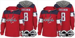 100th Washington Capitals Jerseys 8 Alex Ovechkin 19 Nicklas Backstrom 65  Andre Burakovsky High Quality Hoodies Jerseys Sweatshirts 7a56d671eee4