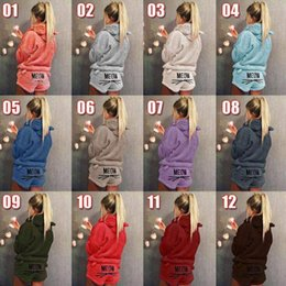 Cat Hooded Embroidery Pajamas Women Warm Soft Cute 2pcs Long Sleeve Short  Pants Sleepwear Nightwear OOA5632 84f41f884