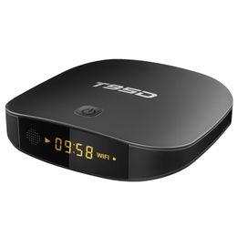 T95d Android TV Box Rockchip RK3229 Quad Core 1 ГБ/2 г оперативной памяти+8 ГБ / 16 г ROM 2.4 ГГц WiFi HD Smart TV Media Player