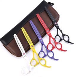 hair snips Australia - 5 Colors Available 6.0 Inch Hairdressing Scissors Barber Hair Cutting Shears Hairdresser Equipment Tool With High Quality