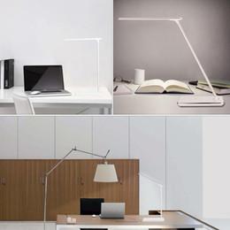 Folding Art Table Australia - LED Desk Lights Table lamps Folding Eye-friendly 4Light Color Temperature Book Light with Wireless Desktop Charger Reading lights