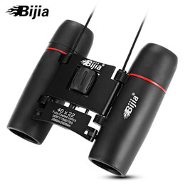 string family 2018 - BIJIA 40X22 2000M   20000M HD Vision Wide-angle Prism Binocular Outdoor Folding Telescope with a string, easier and more