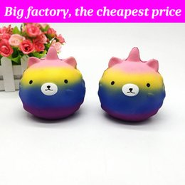 Huge bears toy online shopping - Squishy unicorn bear huge squishies Slow Rising Soft Squeeze Cute Cell Phone Strap gift Stress children toys Decompression Toy