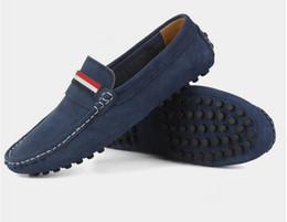 $enCountryForm.capitalKeyWord UK - Brand Large Sizes 36-48 Cow Suede Leather Loafers Men , Casual Mens Shoes Summer Style Soft Moccasins for Men dh2H22