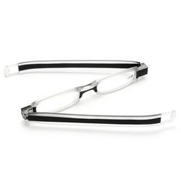Sıcak 360 derece rotasyon Okuma Gözlükleri Katlanabilir Erkekler Kadınlar Için Rahat Ultra Hafif Okuma gözlükleri Gözlük
