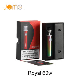 China Authentic Jomo Royal 60w Starter Kit Built-in 2200mAh Battery With 2.0ml Top Refilling Atomizer Huge Vapor No leakage E-cigarette Kits suppliers