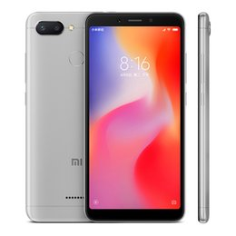 Xiaomi dual sim online shopping - Original Xiaomi Redmi GB RAM GB ROM Mobile Phone quot Full Screen Helio P22 Octa Core MP Fingerprint ID G LTE Smart Cell Phone