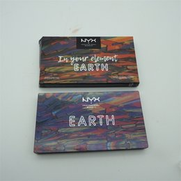 Discount wholesalers nyx cosmetics - Brand New NYX Eye shadow Palette Cosmetics In Your Element EARTH Limited edition DHL Free