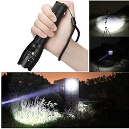 Flash Drive Fish Australia - 2019 NEW Cree XM-L T6 LED Super Bright 5 Modes 18650 Flashlight Hunting Torch Lamp Light Led Flash Light Lamp Bright Lighting