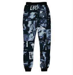 c023ba189aa1c2 Hot Selling 3D Rapper 2Pac Printed Pants Jogger Pants Men s Casual Harem  Pants Cool Sweatpants Hip Hop Style Trousers AMS010