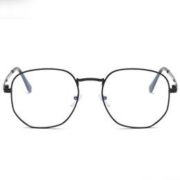 $enCountryForm.capitalKeyWord UK - EyeglassesRetro Designer Metal Zero Diopter Eyewear Upscale Round Glasses Frame Optical Plain Myopia Frame Mirror Unisex