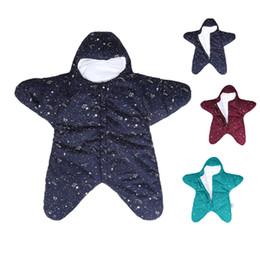 $enCountryForm.capitalKeyWord UK - Baby Cute Star Sleeping Bag Newborns Bed Swaddle Blanket Wrap Starfish Newborn Prams Bed Swaddle Bedding