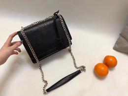 Cell phone purse pattern online shopping - 2018 TOP Quality Famous Brand Handbag Vintage Chain bag Cowhide Y Pattern Shoulder Purse size CM hot sales