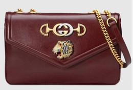 $enCountryForm.capitalKeyWord UK - 2019 Medium Bag With Tiger Head 537241 Women Fashion Shows Shoulder Totes Handbags Top Cross Body Messenger Bags