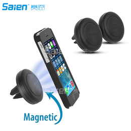 cell phone technologies Australia - Magnetic Mount, Universal Air Vent Magnetic Car Mount Phone Holder, for Cell Phones and Mini Tablets with Fast Swift-Snap Technology