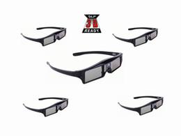 China 5pcs Active shutter 144Hz 3D Glasses For Acer BenQ Optoma ViewSonic Dell LG Vivitek DLP Link Projector cheap dlp link suppliers