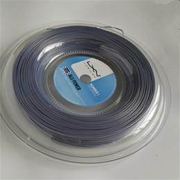 Опт Горячие Продаем высокого качества LUXILON Big Banger Alu Мощность теннисную ракетку Строка 200м Серый цвет же высокого качества, как в исходном Luxilon Строка