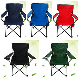 Leisure chairs online shopping - Leisure Folding Chair Thicken Waterproof Oxford Cloth Armchair Easy To Carry Outdoor Beach Chairs Convenient Five Colors lj B