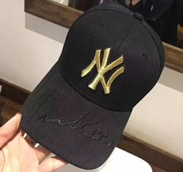 NY Cap Yankees Caps Popular Adjustable For Men Women Fresh Daisies Baseball  Hats Fashion Embroidery Free ship cf4875e106a