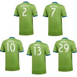 370b3cc0e 2018 19 Seattle Sounders FC DEMPSEY 2 MORRIS 13 LODEIRO 10 TORRES 29 ROLDAN  soccer jersey football shirt kit camiseta futbol maillot de foot