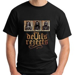 $enCountryForm.capitalKeyWord NZ - New The Devil's Reject Captain Spaulding Rob Zombie Men Black T-Shirt Size S-5Xl Tees Shirt Men's Design Custom Short Sleeve 3XL Couple