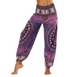 sports mark UK - ISTider Yoga Pants Print Floral Women High Waist Wide Legs Comfortable Sport Pants Dance Trousers Breathable Leggings