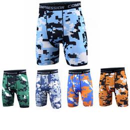 $enCountryForm.capitalKeyWord NZ - Men compression Shorts camo Tracksuit Gym shorts PRO Slim Fitted Active shorts Sweatpants Bodybuilding Combat Dry Leggings men short pants
