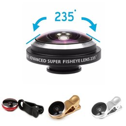 Wholesale Etmakit Universal Wide Angle Degree Super Fisheye Lens for Iphone Xiaomi Redmi Note Mobile Camera Fisheye Lenses